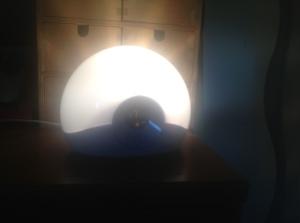 My sunlight alarm clock.
