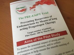 Preempt trial leaflet