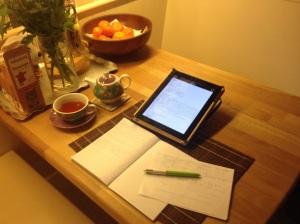 My study area.